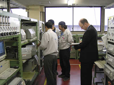 MCERTS manufacturing audit in Japan